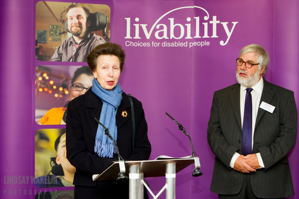 Princess Anne visits Treetops in Colchester