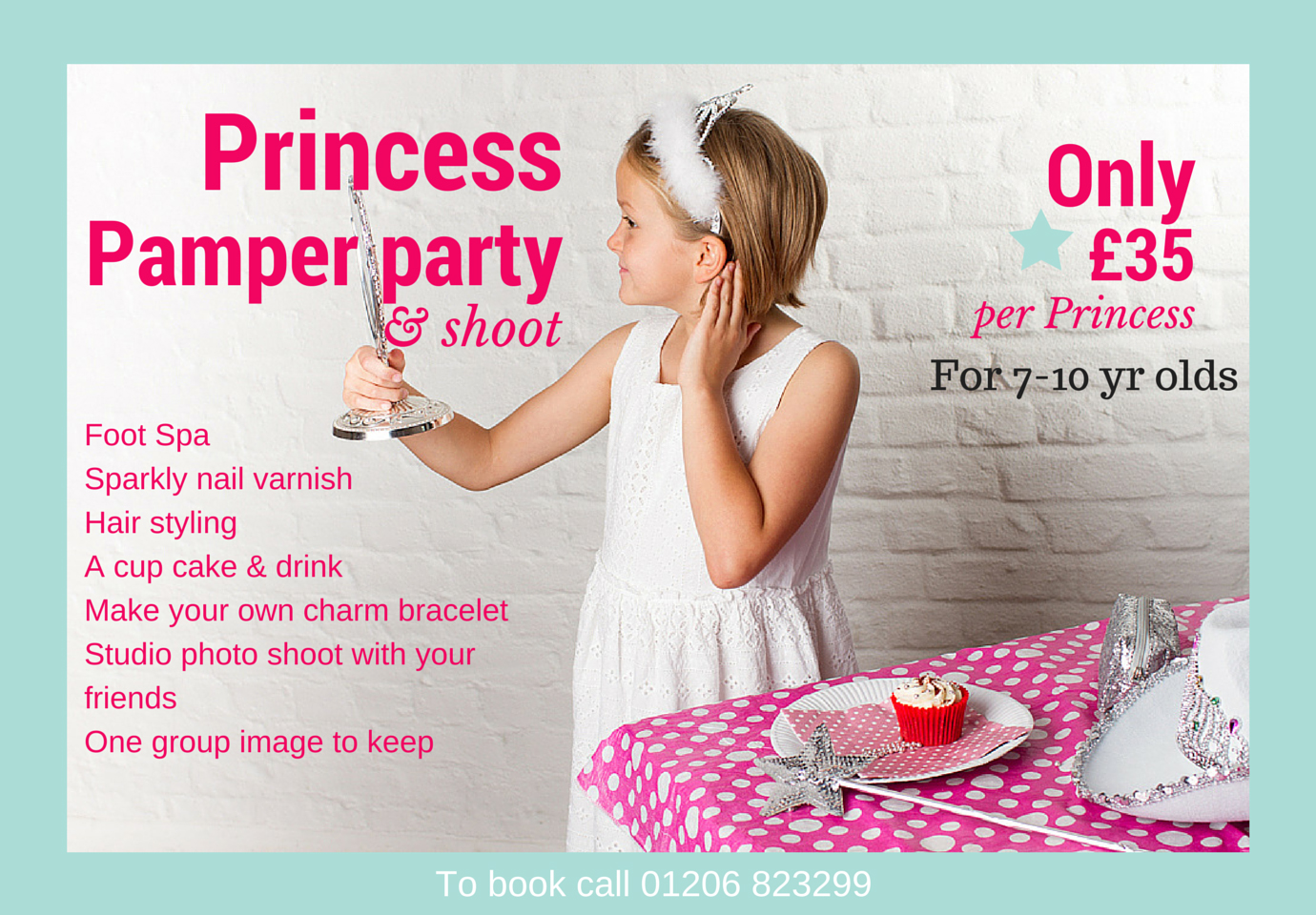 PrincessPamper party & shoot